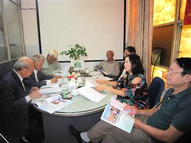 Kết quả hình ảnh cho foto: họp VACNE
