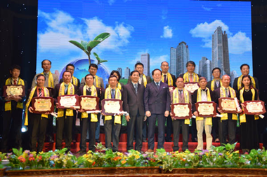 Pictures Repotage 1 of the Awards Ceremony  ENVI-PRO & TECH Vietnam - Korea 2016