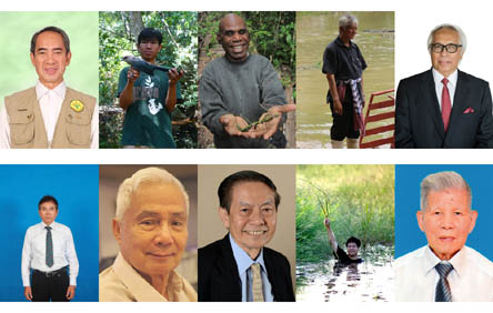 Ten conservation advocates receive 2017 ASEAN Biodiversity Heroes Award