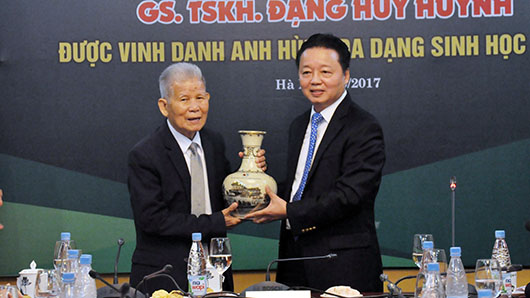 MONRE Minister Tran Hong Ha: Desire for Vietnam to have more ASEAN Biodiversity Heroes