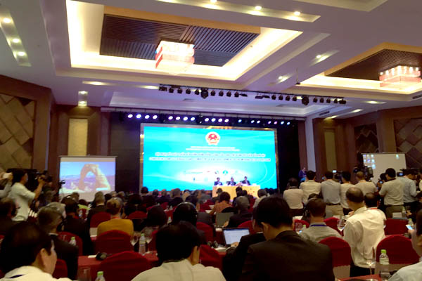 VACNE leaders attended the Conference on Sustainable Development for the Mekong Delta