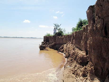Accelerated erosion threatens homes, income of 700 families